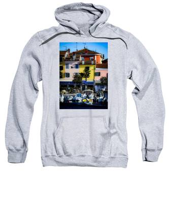 The Watercolors In Split Sweatshirt