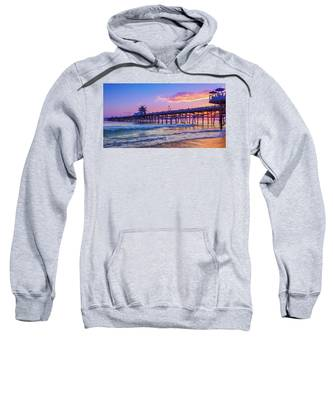 There Will Be Another One - San Clemente Pier Sunset Sweatshirt