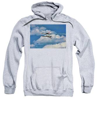 Thunderbirds Inverted Sweatshirt