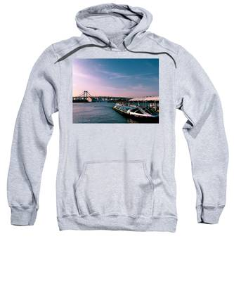 Seascape Hooded Sweatshirts T-Shirts