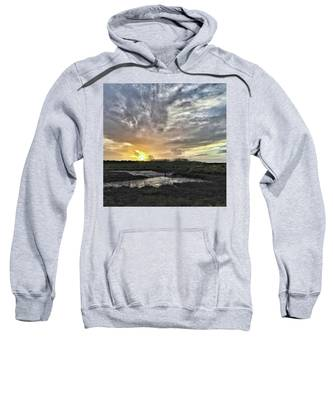 Sunset Hooded Sweatshirts T-Shirts