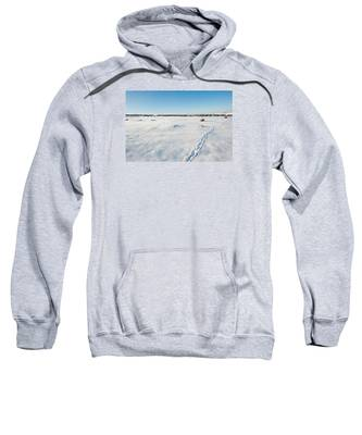 Tracks In The Snow Sweatshirt