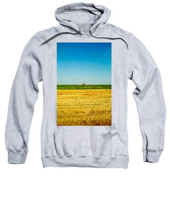 Tricolor With Tractor Sweatshirt
