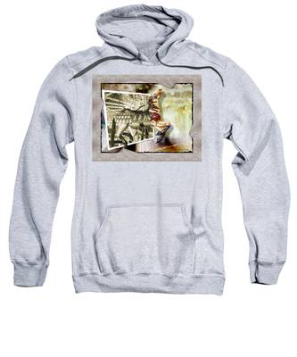 Sweatshirt featuring the photograph Triumph by Susan Kinney