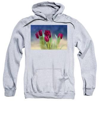 Tulips For Spring Sweatshirt