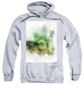 Tybee Island Pier Georgia Sweatshirt