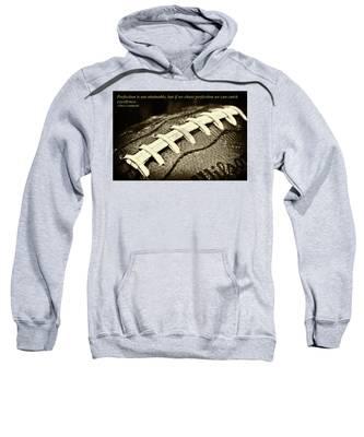 Vince Lombardi Perfection Quote Sweatshirt