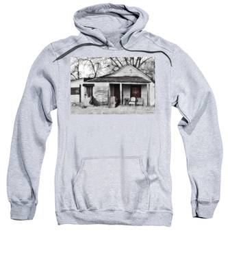 Sweatshirt featuring the photograph Waiting by Susan Kinney