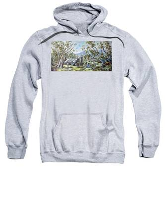 Wallace Hut, Australia's Alpine National Park. Sweatshirt