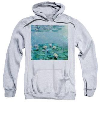 Monet Water Lilies Hooded Sweatshirts T-Shirts