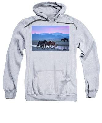 Wild Horse Sunrise Sweatshirt