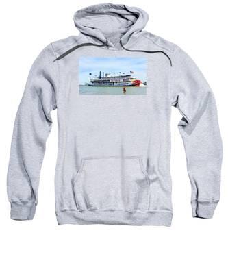 Woman Meets Natchez Sweatshirt