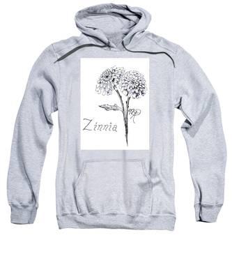 Zannie Zinnia Sweatshirt