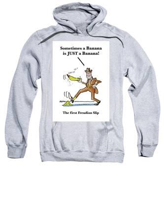 Freudian Slip Sweatshirt by Mark Armstrong
