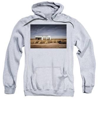 Glenrio Abandoned Gas Station  Sweatshirt