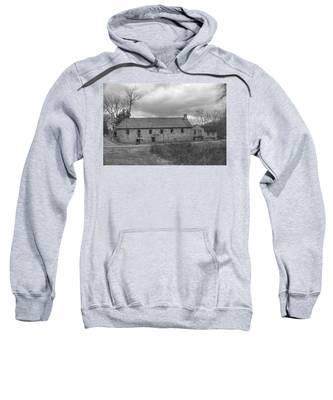 Grey Skies Over Fieldstone - Waterloo Village Sweatshirt