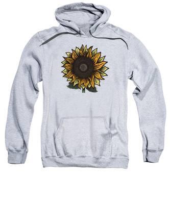 Sunflowers Hooded Sweatshirts T-Shirts