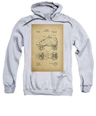 J. L. Plimpton, Roller Skate, Patented Dec.8,1908. Sweatshirt