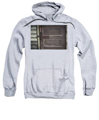 Leather Door Sweatshirt