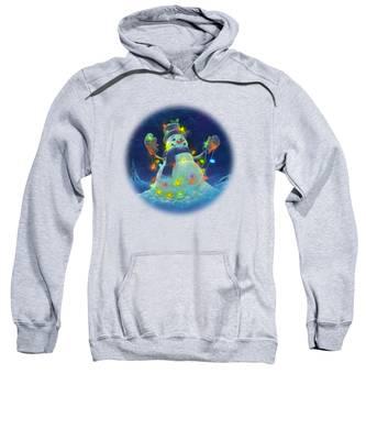 Lights Hooded Sweatshirts T-Shirts