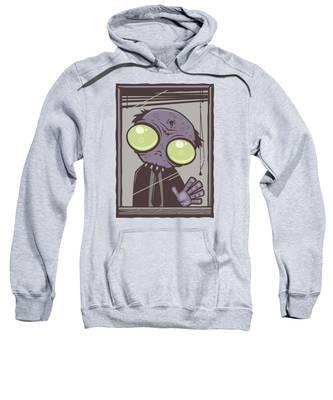 Window Hooded Sweatshirts T-Shirts