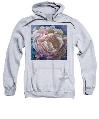 Peony -transparent Petals Sweatshirt