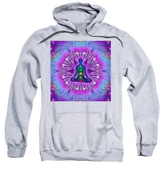 Resonance Grid Sweatshirt by Derek Gedney