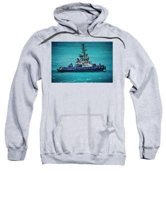 Salvage Tug Boat Sweatshirt