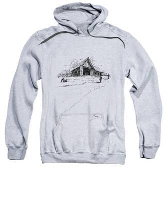 Yard-work On The Farm Sweatshirt