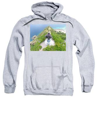 Mountain Sunset Hooded Sweatshirts T-Shirts