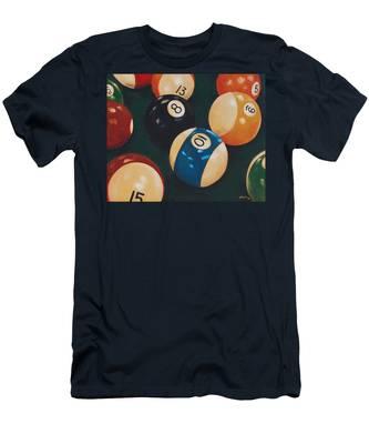 Billiards Men's T-Shirt (Athletic Fit)