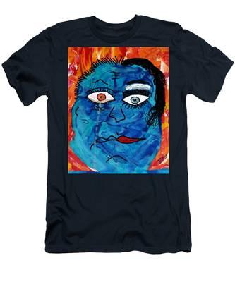 Bipolar Blues Men's T-Shirt (Athletic Fit)