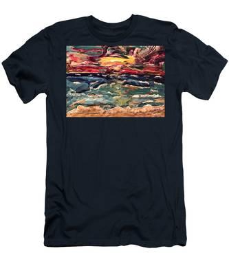 Capricious Sea Men's T-Shirt (Athletic Fit)