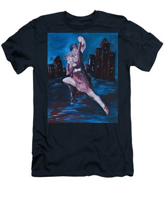 Dance The Night Away Men's T-Shirt (Athletic Fit)
