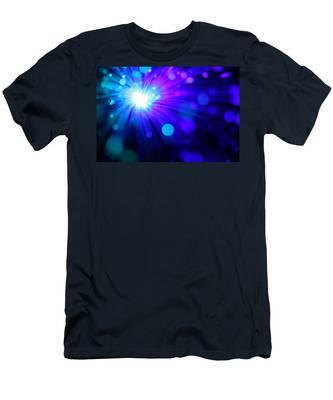 Dazzling Blue Men's T-Shirt (Athletic Fit)