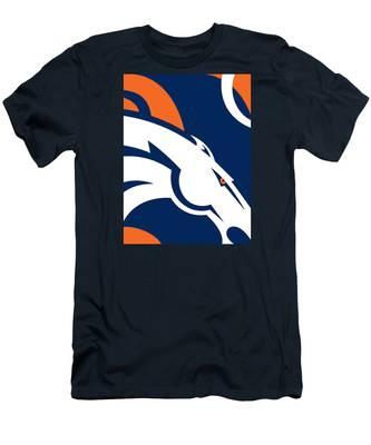 Denver Broncos Football Men's T-Shirt (Athletic Fit)