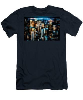 Downtown II - Dark Men's T-Shirt (Athletic Fit)