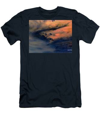 Fire In The Hills Men's T-Shirt (Athletic Fit)