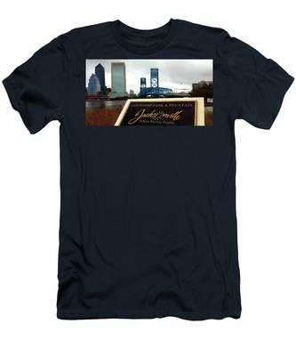 Jacksonville Men's T-Shirt (Athletic Fit)