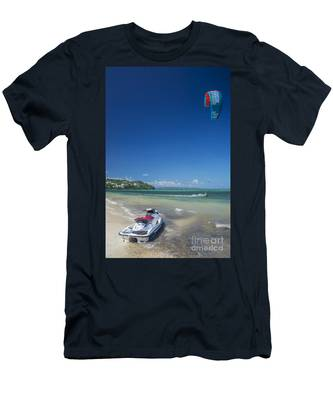 Eat Sleep Jet Ski Male Water Ocean Beach Fun T-Shirt