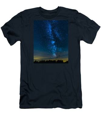 Milky Way Cherry Springs Men's T-Shirt (Athletic Fit)