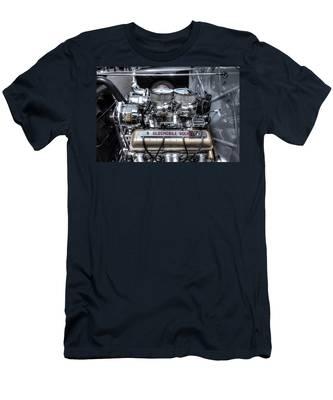 Olds Rocket Men's T-Shirt (Athletic Fit)