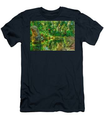 Reflecting On The Day Men's T-Shirt (Athletic Fit)