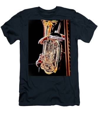 Tuba Player Men's T-Shirt (Athletic Fit)