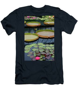 Waterlilies And Platters 2 Men's T-Shirt (Athletic Fit)