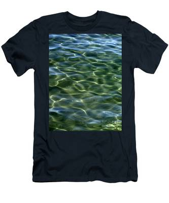 Waves On Lake Tahoe Men's T-Shirt (Athletic Fit)