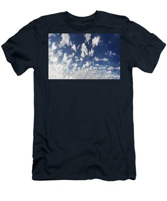 Cloudy Sky Men's T-Shirt (Athletic Fit)