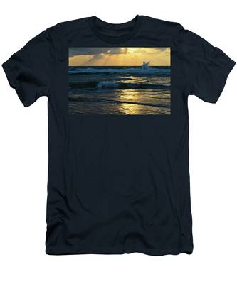Men's T-Shirt (Athletic Fit) featuring the photograph Sunset by Michael Goyberg