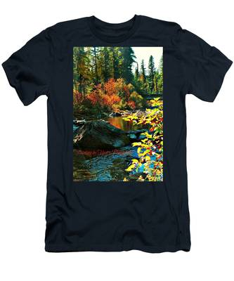 Above Tally Lake Men's T-Shirt (Athletic Fit)