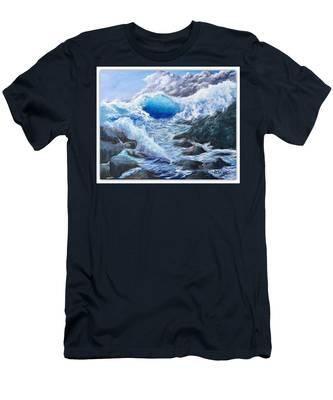 Blue Storm Men's T-Shirt (Athletic Fit)